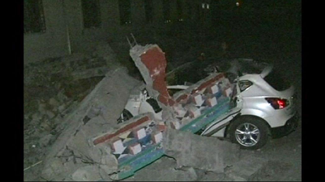 Tote und Verletzte bei Erdbeben in China