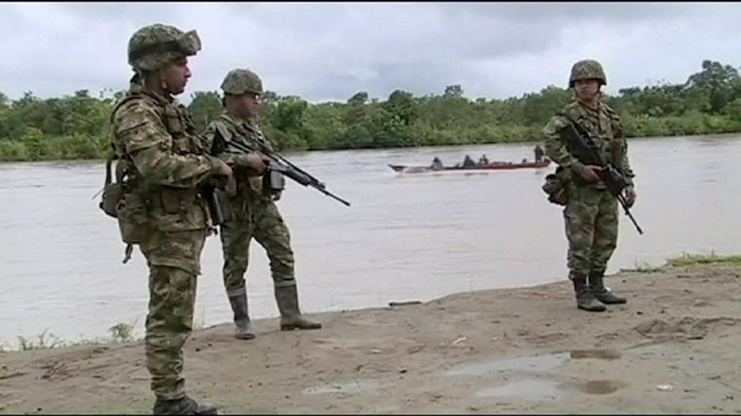 Colombia to pull back army in return for release of top general