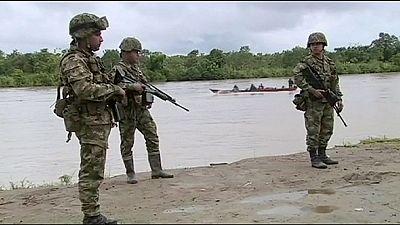 Colômbia: Exército suspense operações no leste enquanto espera libertação de general