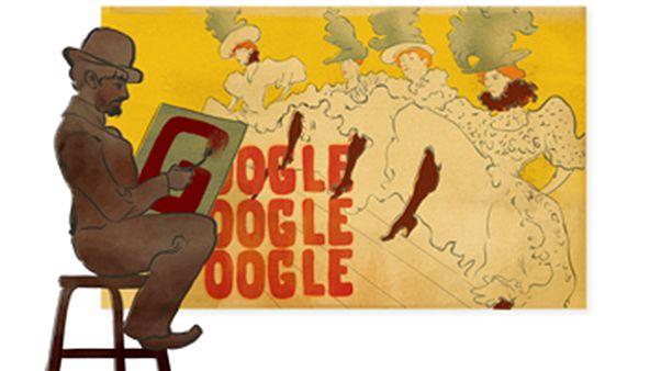 Η Google ζωγραφίζει μαζί με τον Τουλούζ – Λωτρέκ