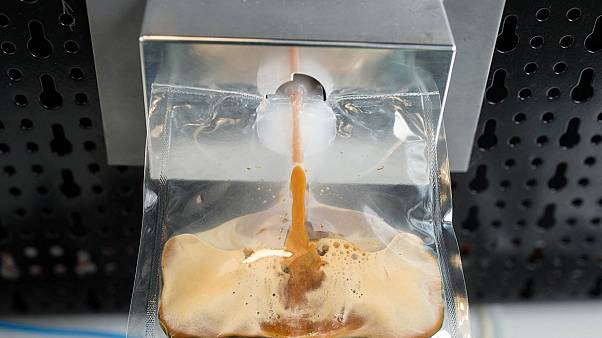 Αυτή είναι η διαστημική μηχανή καφέ!- Βίντεο