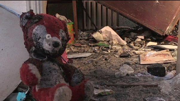 Donetsk'te savaş devam ediyor
