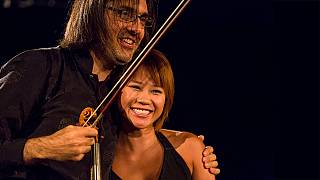 Leonidas Kavakos and Yuja Wang, a superstar duo at Carnegie Hall