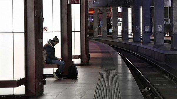 Comienzan en Bélgica una serie de huelgas que culminarán con un paro nacional el 15 de diciembre