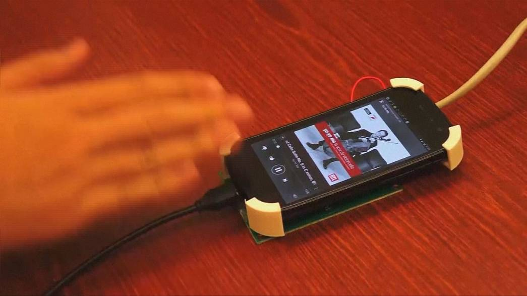 Smartphones reconhecem gestos manuais