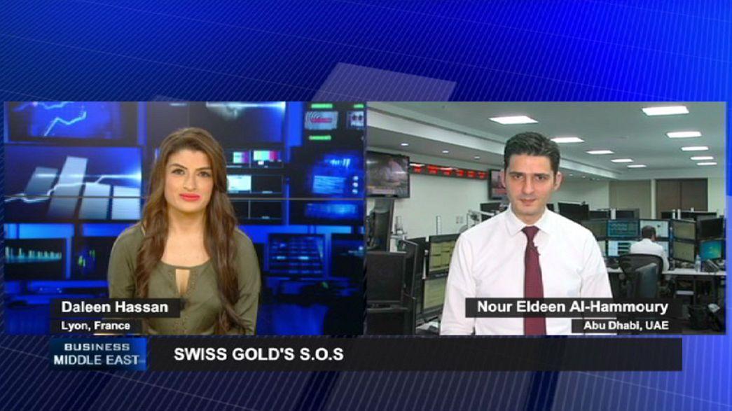 Les marchés ont les yeux rivés sur l'or suisse