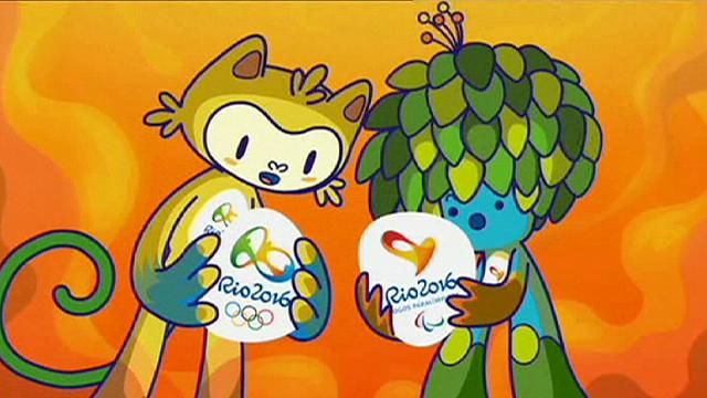 Rio 2016 Olympic mascots unveiled