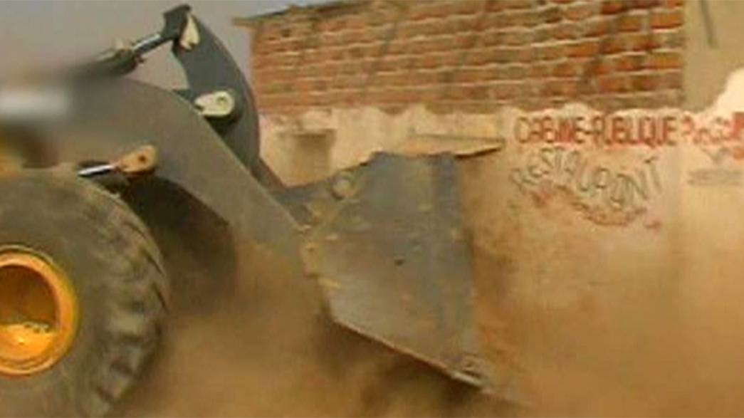 Belgian firm accused of lying over bulldozing of homes