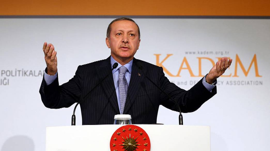 Turkish President sparks row by saying women are not equal to men