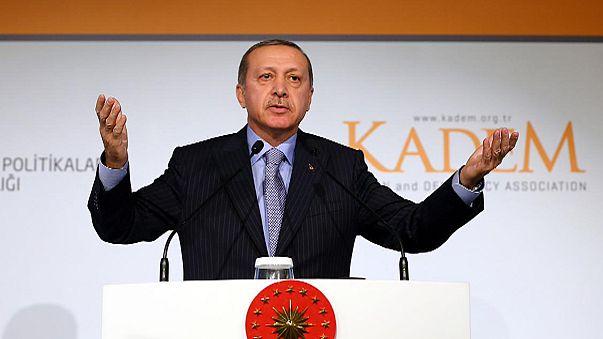 أردوغان: لا مساواة بين الرجل والمرأة