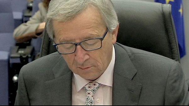 Juncker'i zor bir hafta bekliyor