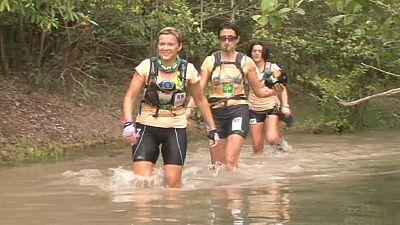 Fiesta del deporte para mujeres en el Raid Amazonas