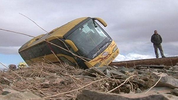 Las inundaciones se cobran una treintena de vidas en el sur de Marruecos