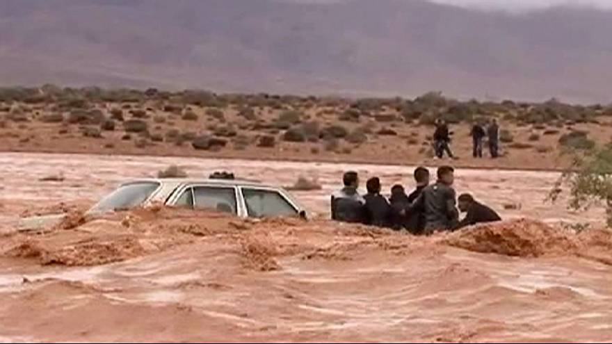 Deadly flash floods strike southern Morocco