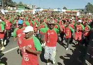 Thousands take part in Great Ethiopian Run
