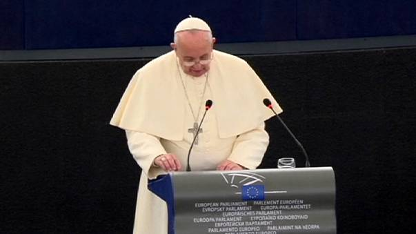 Europe 'somewhat elderly and haggard', says Pope Francis