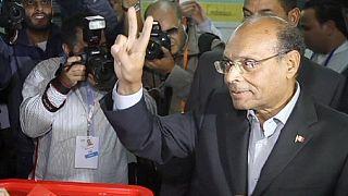 سبسی و مرزوقی به دور دوم انتخابات تونس راه یافتند