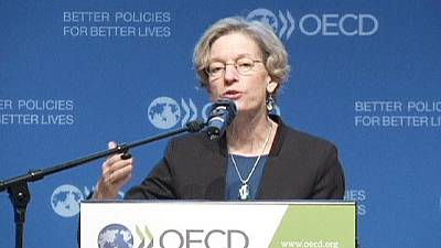 OECD fears for eurozone stagnation