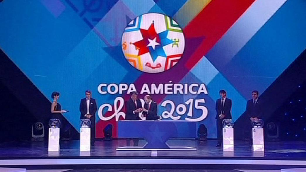 Жеребьевка Кубка Америки-2015: Бразилия и Аргентина сыграют в разных группах