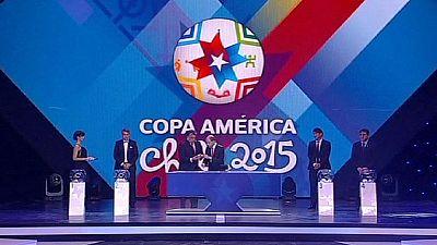 Sorteggiati i gironi della Coppa America 2015 di calcio