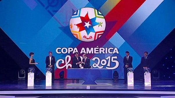 Sorsoltak a Copa Americára