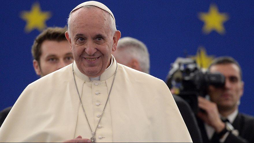 El papa pide a Europa que se despierte