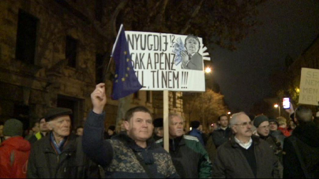 Pensioni private da convertire in fondi pubblici. Proteste in Ungheria
