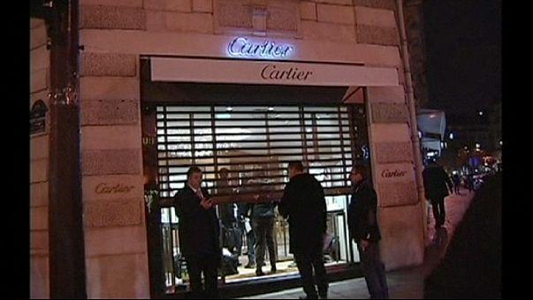 Geiselnahme nach Überfall auf Pariser Schmuckgeschäft