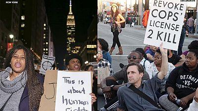 USA: Landesweite Proteste nach ausgebliebener Anklage gegen Ferguson-Todesschützen