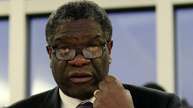 Sakharov Prize winner Mukwege on justice for DRC's women