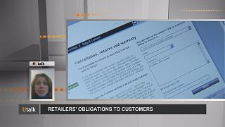 Retailers' obligations to customers