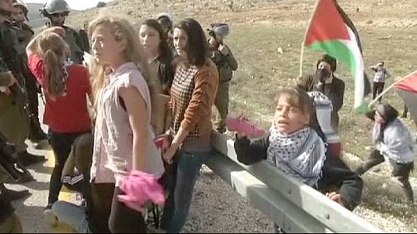 8-year-old Palestinian girl reports on West Bank conflict