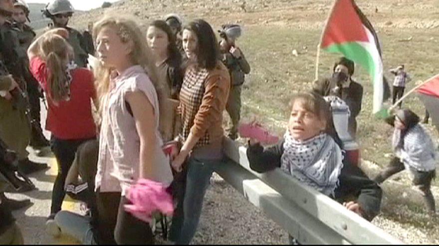 Cisjordanie : Jana Tamimi, 8 ans, filme les tensions avec les Israéliens