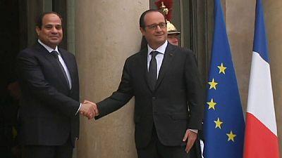 Al-Sissi en France pour parler sécurité et chaos libyen