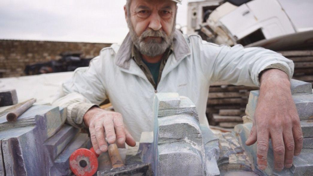 Hüseyn Hagverdi: O escultor e a pedra