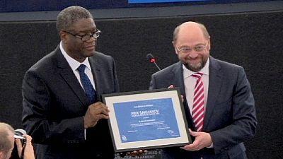 Vencedor do Prémio Sakharov alerta para horror da violência sexual