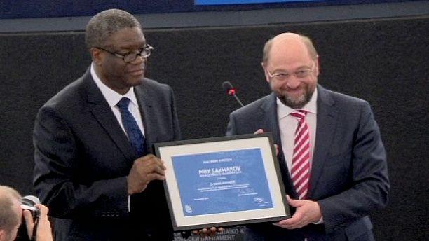 Denis Mukwege: Sakharov Prize winner and champion of human rights