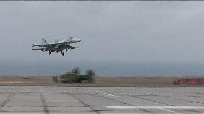 NATO concern over Russian planes in Crimea