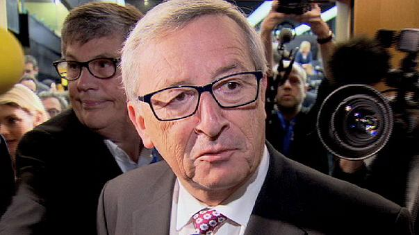جان كلود يونكر يعلن في البرلمان الاوروبي الخطة الاستثمارية الخمسية للمفوضية الاوروبية.
