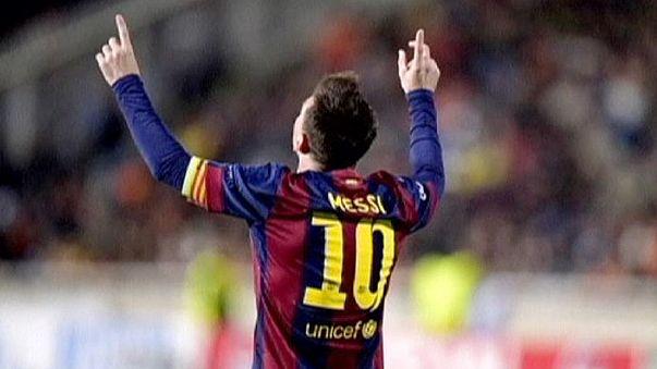 Calcio: Messi sempre piu' nella storia, miglior goleador della Champions