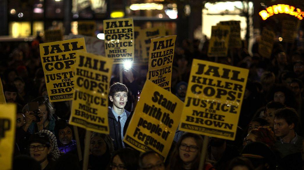 مظاهرات إحتجاجية في 170 مدينة أمريكية بعد تبرئة الشرطي ويلسون
