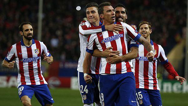 صعود اتلتیکو مادرید و آرسنال به مرحله یک هشتم نهایی لیگ قهرمانان اروپا
