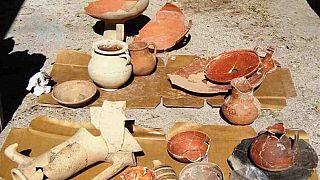 Κύπρος: Σημαντικά αρχαιολογικά ευρήματα στην αγορά της Νέας Πάφου