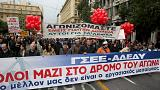 General strike grips Greece as Troika talks stall