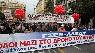 Ελλάδα: Εικοσιτετράωρη απεργία των συνδικάτων