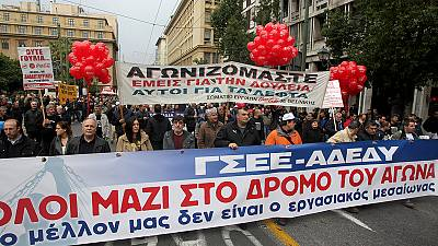 24-Stunden-Generalstreik legt Griechenland lahm