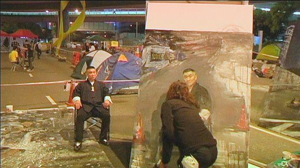 Protestos em Hong Kong: Preservar os objetos simbólicos