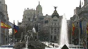 Spanish inflation falls again
