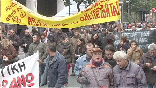 Grécia paralisada com greve geral