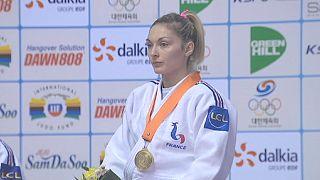 Judo : les Française à la fête en Corée